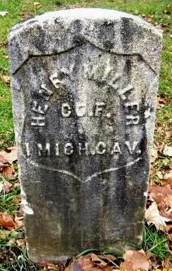 MILLER, HENRY - Calhoun County, Michigan   HENRY MILLER - Michigan Gravestone Photos
