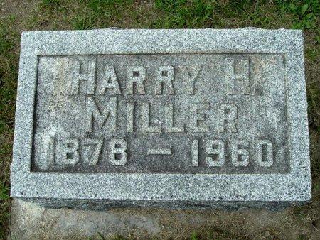 MILLER, HARRY H. - Calhoun County, Michigan   HARRY H. MILLER - Michigan Gravestone Photos