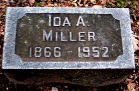 MILLER, IDA A - Calhoun County, Michigan | IDA A MILLER - Michigan Gravestone Photos
