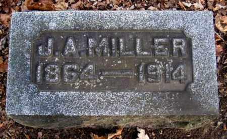 MILLER, JEREMIAH A - Calhoun County, Michigan   JEREMIAH A MILLER - Michigan Gravestone Photos