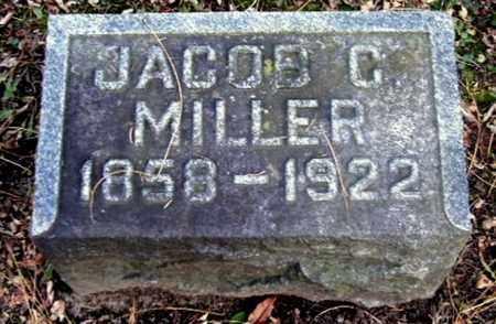 MILLER, JACOB M - Calhoun County, Michigan   JACOB M MILLER - Michigan Gravestone Photos
