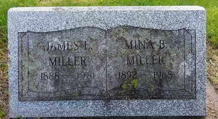 MILLER, JAMES E - Calhoun County, Michigan | JAMES E MILLER - Michigan Gravestone Photos