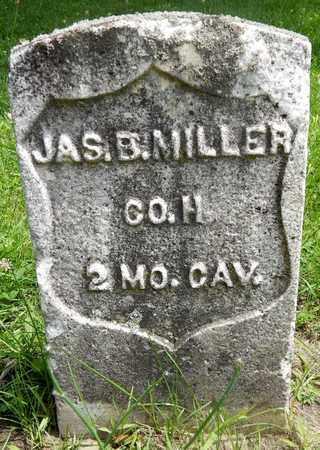 MILLER, JAMES B - Calhoun County, Michigan   JAMES B MILLER - Michigan Gravestone Photos