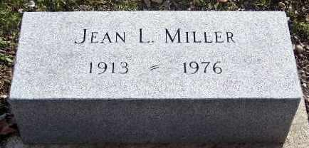 MILLER, JEAN - Calhoun County, Michigan | JEAN MILLER - Michigan Gravestone Photos