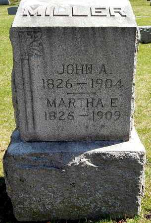 MILLER, MARTHA E - Calhoun County, Michigan | MARTHA E MILLER - Michigan Gravestone Photos