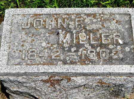 MILLER, JOHN F - Calhoun County, Michigan   JOHN F MILLER - Michigan Gravestone Photos