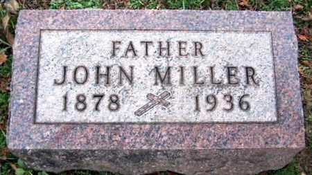 MILLER, JOHN - Calhoun County, Michigan   JOHN MILLER - Michigan Gravestone Photos