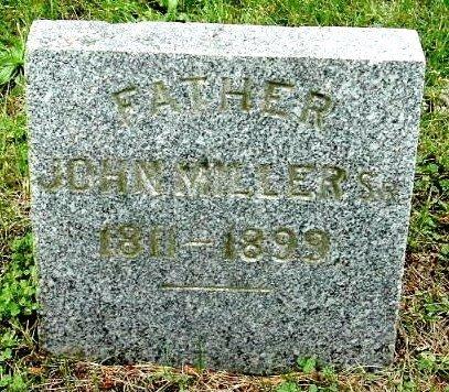 MILLER, JOHN, SR - Calhoun County, Michigan   JOHN, SR MILLER - Michigan Gravestone Photos