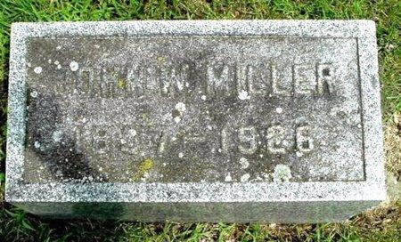 MILLER, JOHN W - Calhoun County, Michigan   JOHN W MILLER - Michigan Gravestone Photos