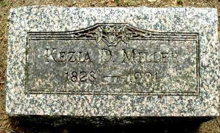 MILLER, KEZIA D - Calhoun County, Michigan | KEZIA D MILLER - Michigan Gravestone Photos
