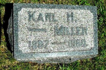 MILLER, KARL H - Calhoun County, Michigan | KARL H MILLER - Michigan Gravestone Photos