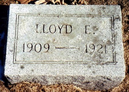 MILLER, LLOYD E. - Calhoun County, Michigan   LLOYD E. MILLER - Michigan Gravestone Photos