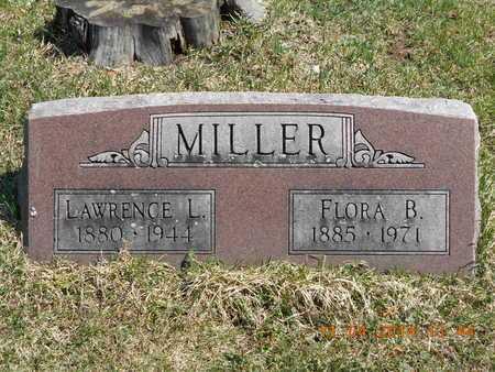 MILLER, FLORA B. - Calhoun County, Michigan   FLORA B. MILLER - Michigan Gravestone Photos