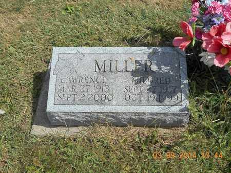 MILLER, LAWRENCE - Calhoun County, Michigan | LAWRENCE MILLER - Michigan Gravestone Photos