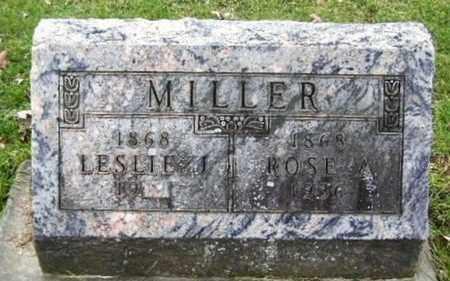 MILLER, ROSE - Calhoun County, Michigan | ROSE MILLER - Michigan Gravestone Photos