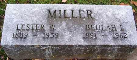 MILLER, BEULAH - Calhoun County, Michigan | BEULAH MILLER - Michigan Gravestone Photos