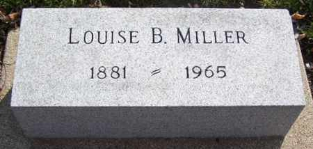 MILLER, LOUISE B - Calhoun County, Michigan | LOUISE B MILLER - Michigan Gravestone Photos