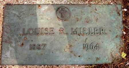 MILLER, LOUISE R - Calhoun County, Michigan | LOUISE R MILLER - Michigan Gravestone Photos