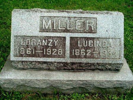 MILLER, LORANZY - Calhoun County, Michigan | LORANZY MILLER - Michigan Gravestone Photos