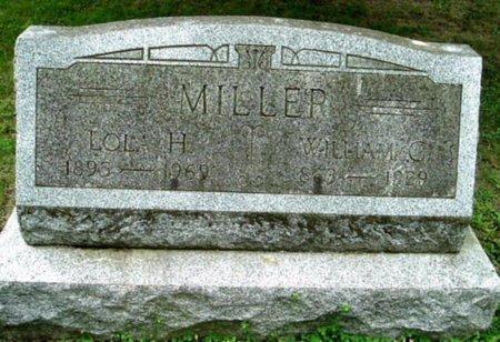 MILLER, WILLIAM C - Calhoun County, Michigan   WILLIAM C MILLER - Michigan Gravestone Photos
