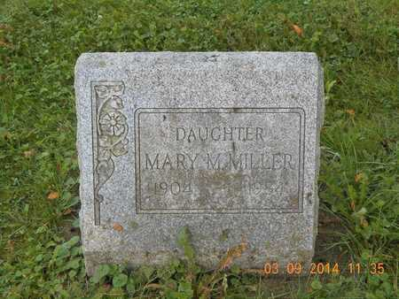 MILLER, MARY M. - Calhoun County, Michigan | MARY M. MILLER - Michigan Gravestone Photos