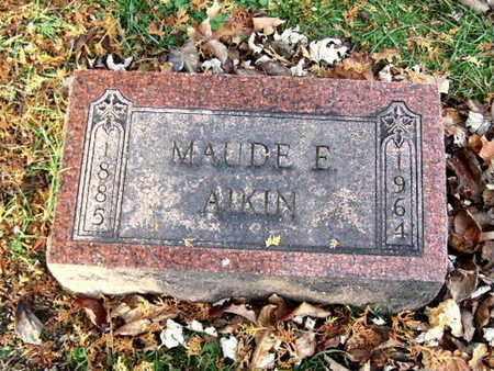 MILLER, MAUDE E. - Calhoun County, Michigan | MAUDE E. MILLER - Michigan Gravestone Photos