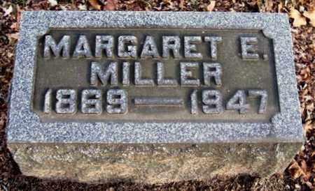 MILLER, MARGARET E - Calhoun County, Michigan   MARGARET E MILLER - Michigan Gravestone Photos