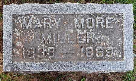 MILLER, MARY MORE - Calhoun County, Michigan   MARY MORE MILLER - Michigan Gravestone Photos