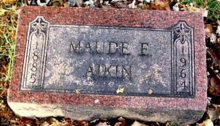 MILLER, MAUDE E - Calhoun County, Michigan | MAUDE E MILLER - Michigan Gravestone Photos