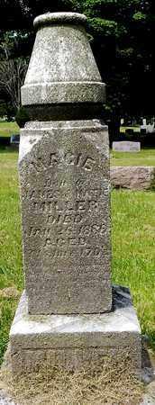 MILLER, MACIE - Calhoun County, Michigan | MACIE MILLER - Michigan Gravestone Photos