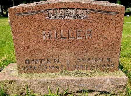 MILLER, MYRTLE M - Calhoun County, Michigan   MYRTLE M MILLER - Michigan Gravestone Photos