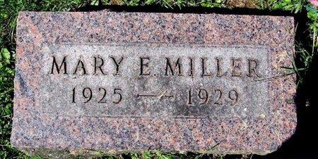 MILLER, MARY E - Calhoun County, Michigan   MARY E MILLER - Michigan Gravestone Photos