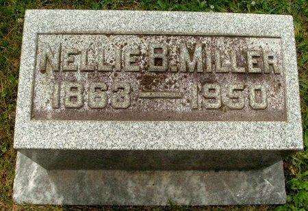 MILLER, NELLIE B - Calhoun County, Michigan | NELLIE B MILLER - Michigan Gravestone Photos