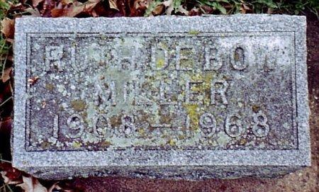 MILLER, RUTH - Calhoun County, Michigan   RUTH MILLER - Michigan Gravestone Photos