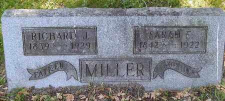 MILLER, RICHARD J - Calhoun County, Michigan | RICHARD J MILLER - Michigan Gravestone Photos