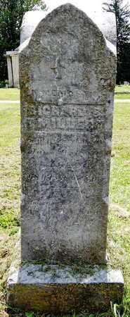 MILLER, RICHARD S - Calhoun County, Michigan   RICHARD S MILLER - Michigan Gravestone Photos