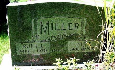 MILLER, RUTH I - Calhoun County, Michigan   RUTH I MILLER - Michigan Gravestone Photos