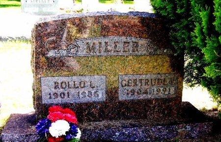 MILLER, ROLLO L - Calhoun County, Michigan   ROLLO L MILLER - Michigan Gravestone Photos