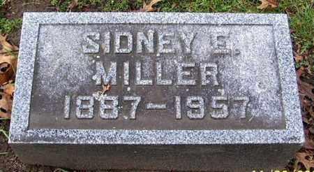 MILLER, SIDNEY E - Calhoun County, Michigan | SIDNEY E MILLER - Michigan Gravestone Photos