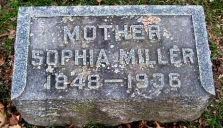 MILLER, SOPHIA A - Calhoun County, Michigan | SOPHIA A MILLER - Michigan Gravestone Photos