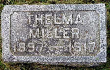 MILLER, THELMA - Calhoun County, Michigan   THELMA MILLER - Michigan Gravestone Photos