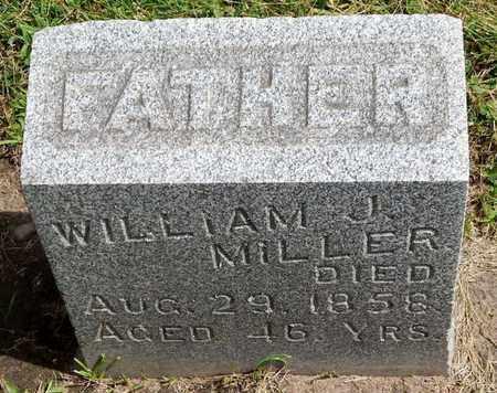 MILLER, WILLIAM J - Calhoun County, Michigan   WILLIAM J MILLER - Michigan Gravestone Photos