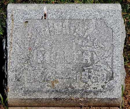 MILLER, WILLIAM J., DR - Calhoun County, Michigan | WILLIAM J., DR MILLER - Michigan Gravestone Photos