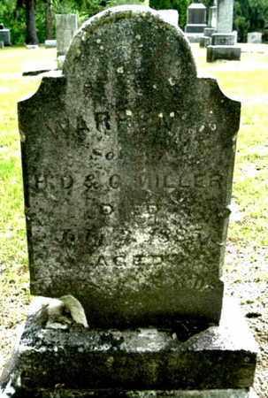 MILLER, WARREN - Calhoun County, Michigan | WARREN MILLER - Michigan Gravestone Photos