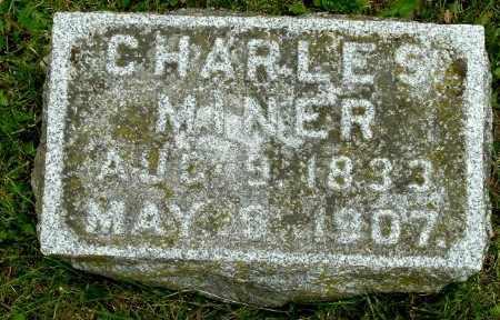 MINER, CHARLES S - Calhoun County, Michigan | CHARLES S MINER - Michigan Gravestone Photos