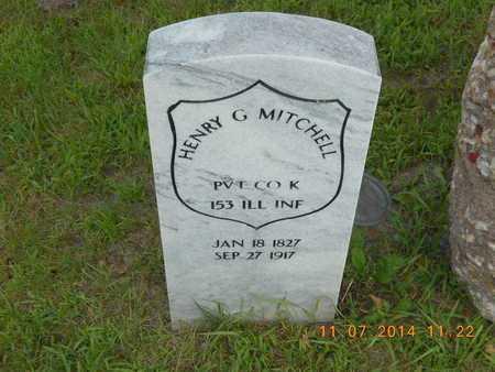 MITCHELL, HENRY G. - Calhoun County, Michigan | HENRY G. MITCHELL - Michigan Gravestone Photos