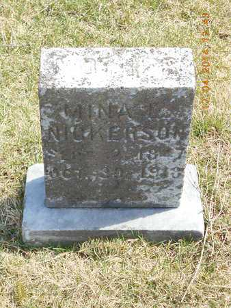 NICKERSON MITCHELL, MINA L. - Calhoun County, Michigan | MINA L. NICKERSON MITCHELL - Michigan Gravestone Photos