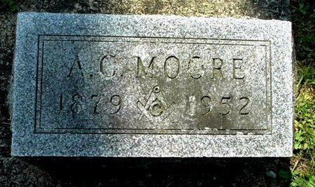 MOORE, A. C. - Calhoun County, Michigan | A. C. MOORE - Michigan Gravestone Photos
