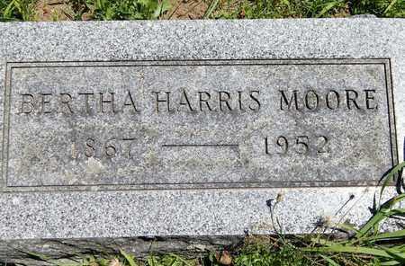 MOORE, BERTHA - Calhoun County, Michigan | BERTHA MOORE - Michigan Gravestone Photos