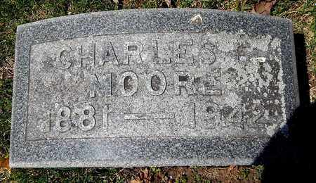 MOORE, CHARLES E - Calhoun County, Michigan | CHARLES E MOORE - Michigan Gravestone Photos